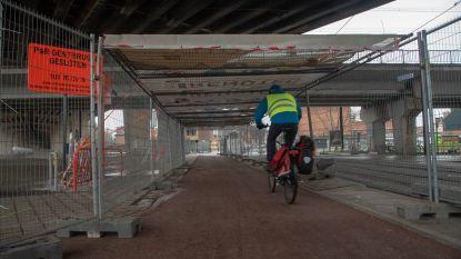 AWV verwijdert kokers onder E17-viaduct