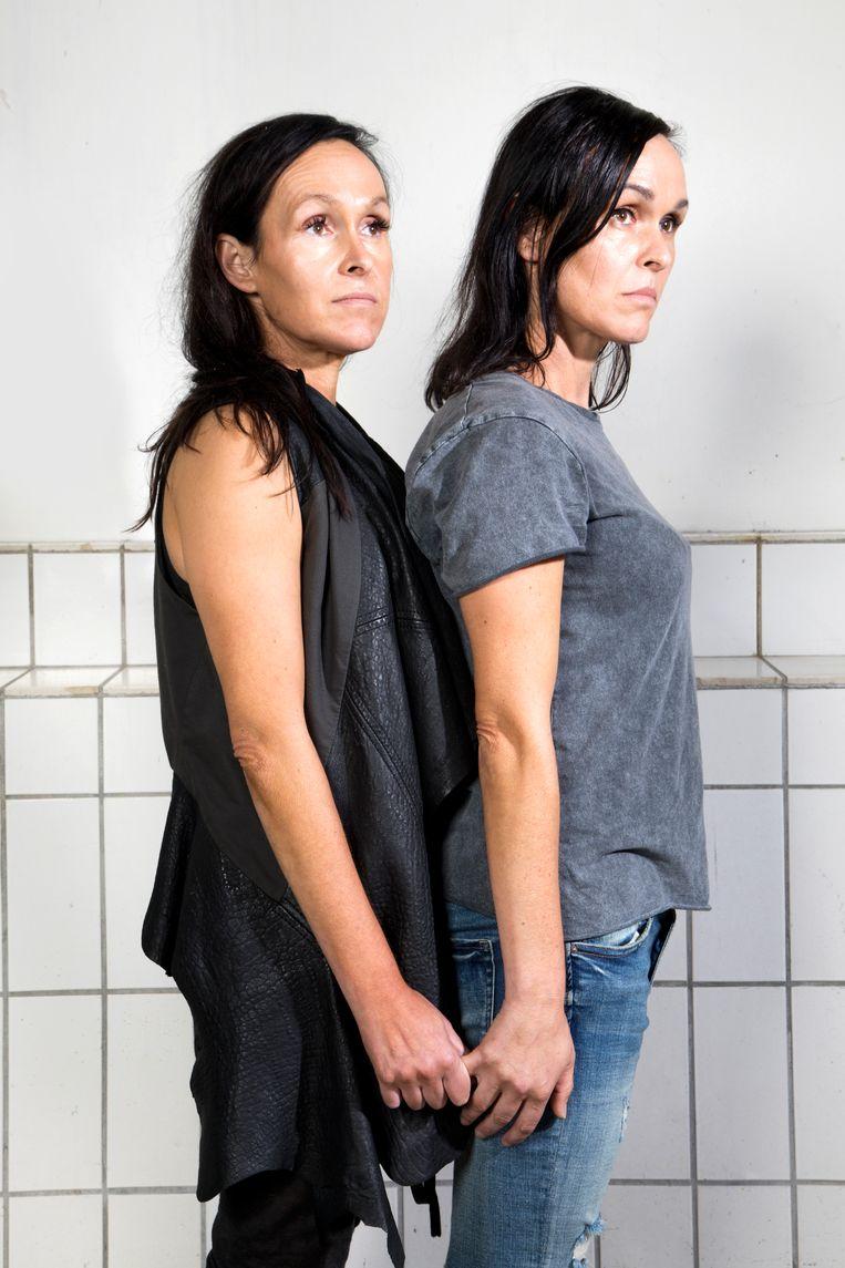 Angelique en Liesbeth. Beeld Eva Roefs