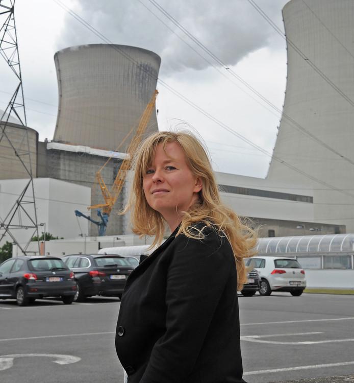 Woordvoerster Nele Scheerlinck: ,,Het gaat altijd maar over die rammelende kerncentrales waar telkens iets mee is. Dat beeld klopt niet, maar het blijft vechten tegen de bierkaai.''