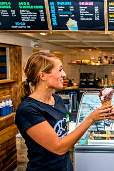 Amerikaanse hartelijkheid bij Ben & Jerry's in Rotterdam