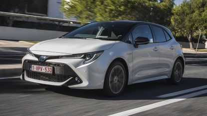 Wint de Toyota 'Corollo' straks de Car of the Year-verkiezing? Volg het hier via de livestream