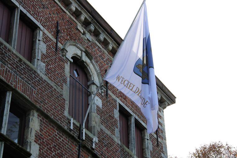 Het gemeentehuis van Wechelderzande.