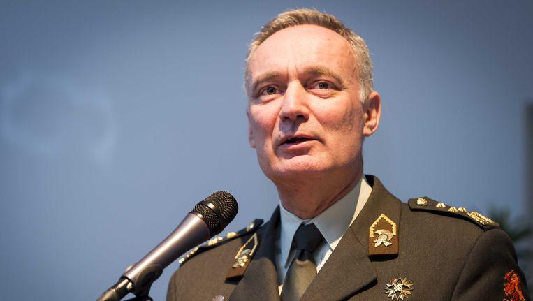 Stafchef van het Nederlandse leger Tom Middendorp.