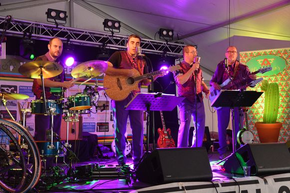 Muziekgroep The Antonio's.