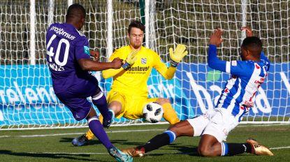 Anderlecht scoort niet tegen Heerenveen (0-0)