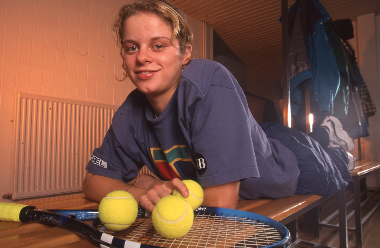 Kim Clijsters 1999 Beeld Dia Archief