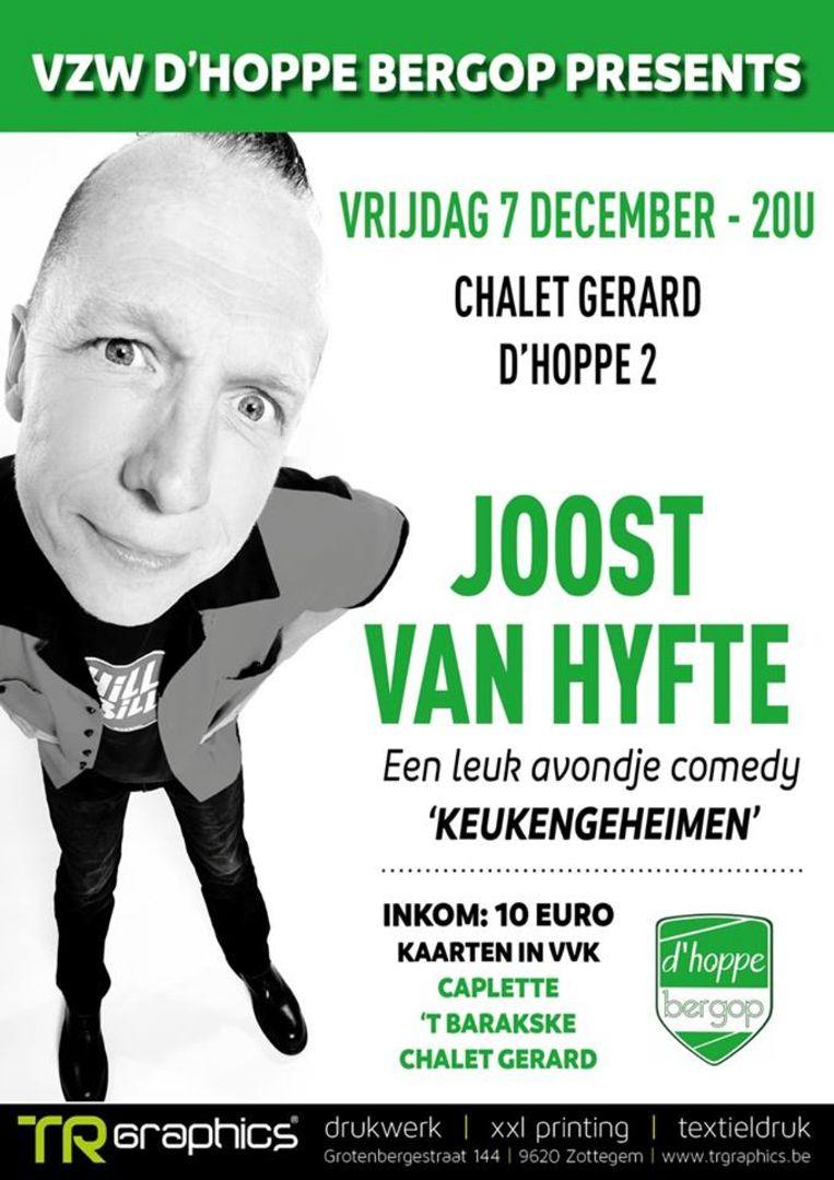 D'Hoppe Bergop brengt Joost Van Hyfte naar D'Hoppe.