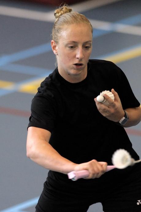 Eefje Muskens stopt met badminton