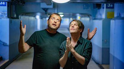 """Luc Dufourmont en Piet De Praitere, terug met Bevergem op Eén: """"Ja, wij zijn BFF's. Noteer dat maar!"""""""