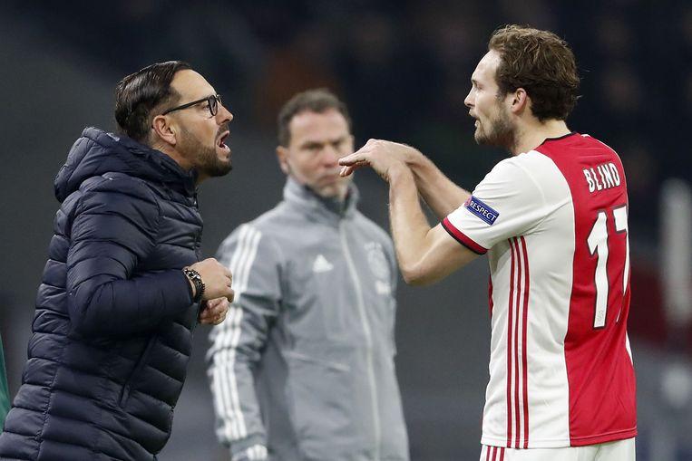 Getafe-coach José Bordalás en Ajax-verdediger Daley Blind