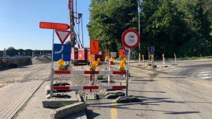 Tweewielers kunnen niet meer over Brusselsesteenweg
