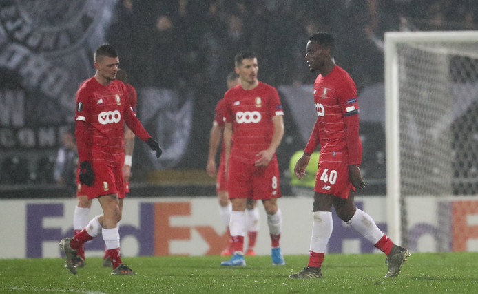 Le Standard doit désormais espérer un miracle pour sortir des poules de l'Europa League.