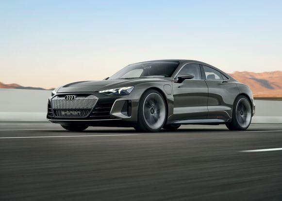 De Audi e-tron GT komt volgend jaar op de markt