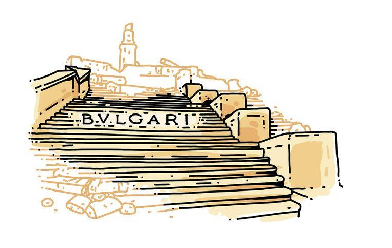 Monument: Spaanse Trappen, Rome. Opgeknapt door: Bulgari. Bedrag: 1,5 miljoen euro. 2014-2017. Beeld Olivier Heiligers