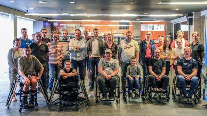 Zes nieuwe rolstoelen voor Ieperse G-sporters
