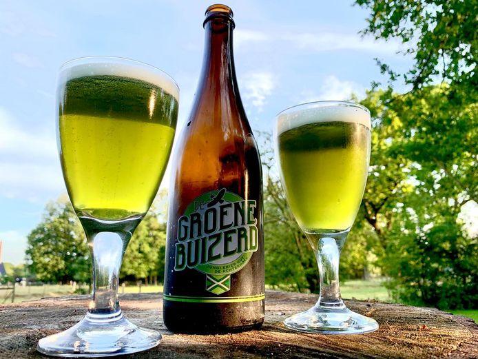 De Groene Buizerd van Bronckhorster Brewing Company is een fris en zomers bier met als belangrijkste ingrediënt CBD (Cannabidiol).