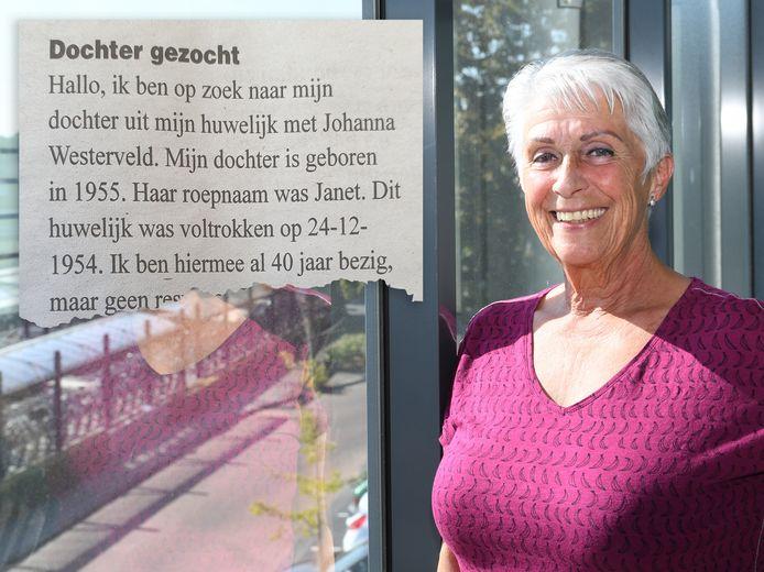 Veertig jaar zocht voormalig Rotterdammer Johannes Hellemons naar zijn dochter in Nederland. Nu heeft hij haar, Jeannette Stok-Mol, gevonden.