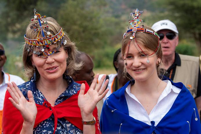 La reine Mathilde, Présidente d'honneur d'UNICEF Belgique, et sa fille Elisabeth ont visité le Kenya avec l'UNICEF