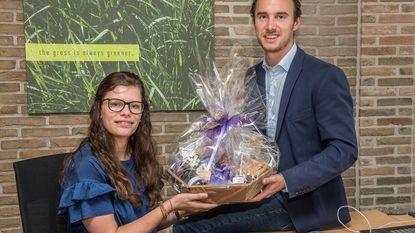 Justine is West-Vlaams jobstudente van het jaar