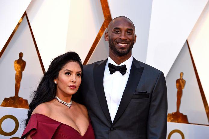 Kobe Bryant en Vanessa Bryant.