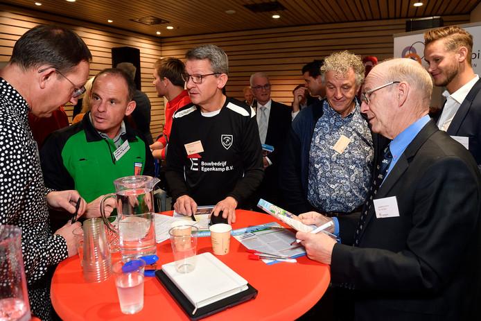 Een van de initiatieven van Matchpoint was de Sportmatchbeurs.