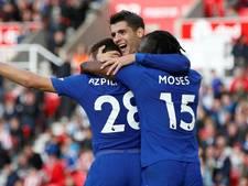 Manchester City en Chelsea winnen met ruime cijfers