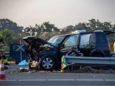 Meerdere gewonden na zware crash op de A28