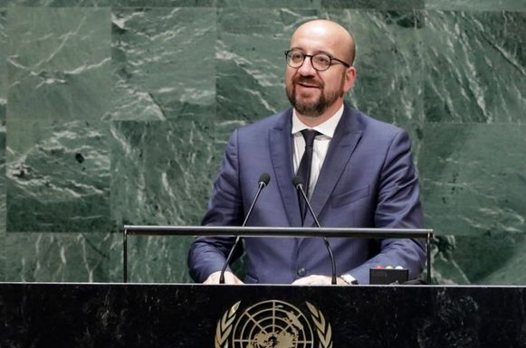 Premier Charles Michel heeft voor de Algemene Vergadering van de Verenigde Naties drie grote uitdagingen naar voor geschoven.