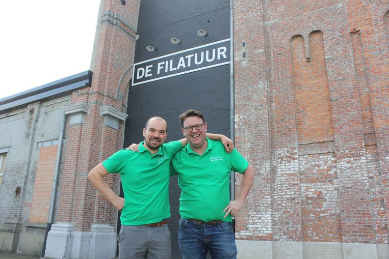 Jan Wauters en Roel Corthals verkennen alvast eens de omgeving rond De Filatuur.