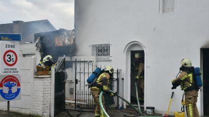 Keukenbrand vernielt woning