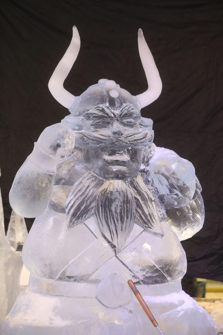 Tijdens het IJssculpturenfestival komt men vaak origineel uit de hoek. Zo zag men in Brugge onder meer al een ijsviking, K3, Pinokkio en een figuur uit Maya de Bij.