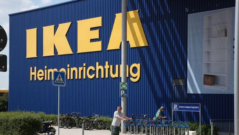 Een vestiging van Ikea in Dresden. Beeld EPA