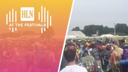VIDEO. Eerste festivalgangers bestormen camping Rock Werchter