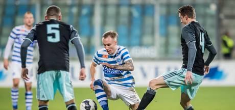 De Graafschap-aanvaller Van den Hurk velt Jong Ajax