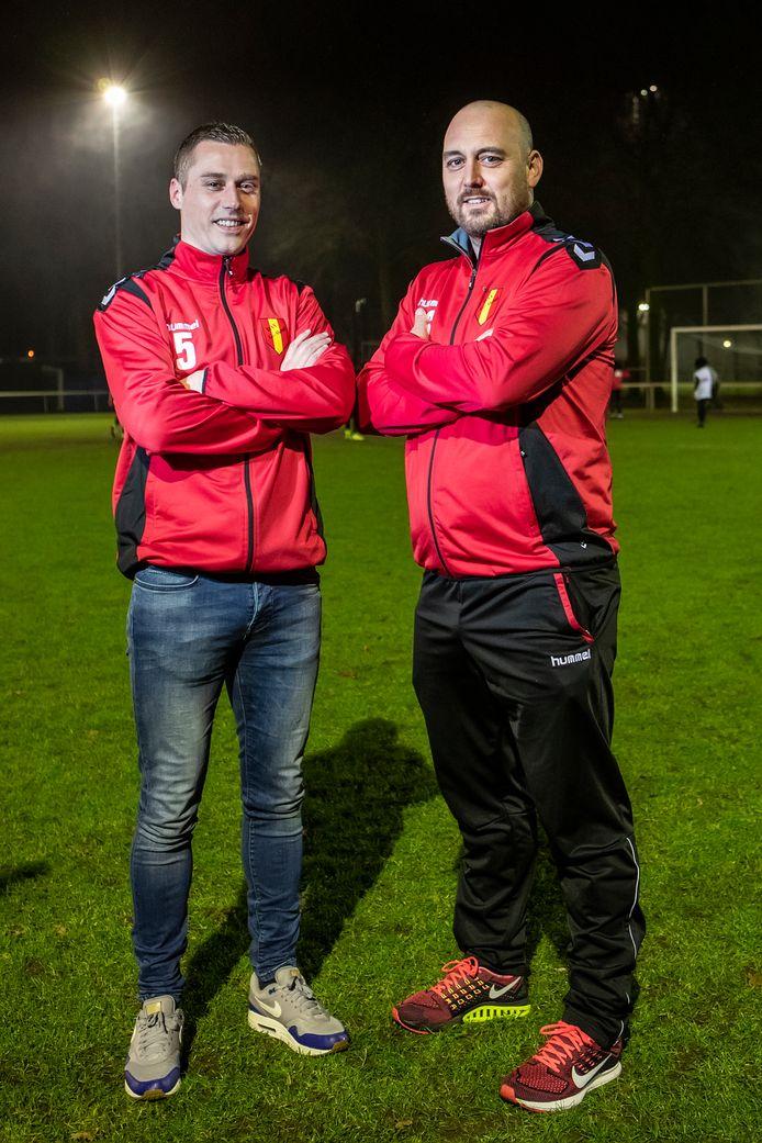 Bas de Groot (links) en Bart Vos beseffen dat de opbouw van Go Ahead veel tijd kost.