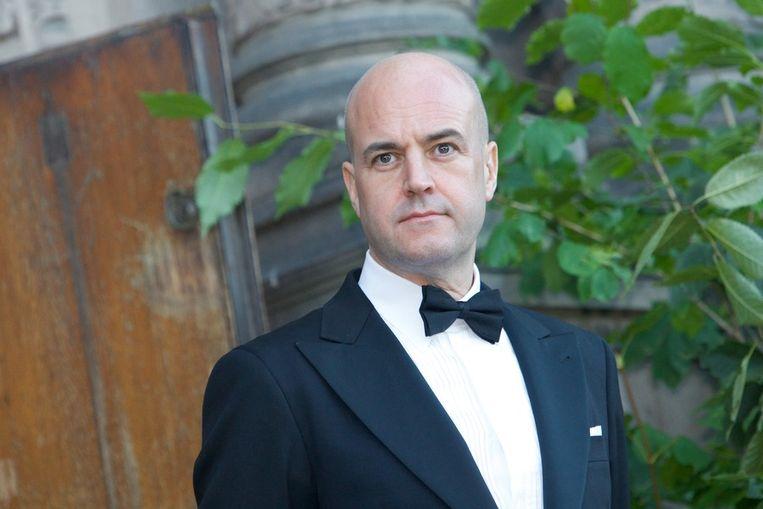 De Zweedse premier Fredrik Reinfeldt. Beeld getty