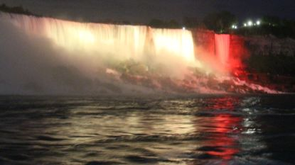 Niagarawatervallen krijgen Belgisch kleurtje voor nationale feestdag