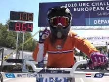 Britt Tijhof uit Nijverdal haalt brons op EK BMX