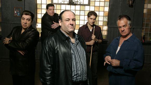 De cast van 'The Sopranos'.
