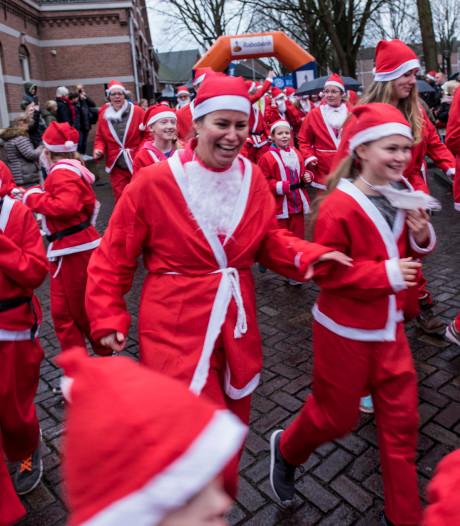Vijfhonderd kerstmannen rennen volgende maand door hartje Oss
