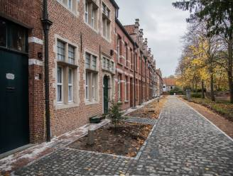 Werken Sint-Alexiusbegijnhof schieten goed op: eerste kassieverharding biedt al nieuw aanzicht