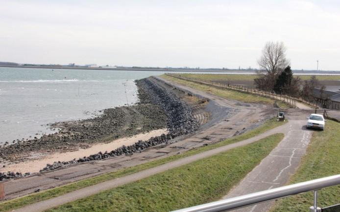 Het schelpenpad bij de Vluchthaven wordt een flink eind doorgetrokken.
