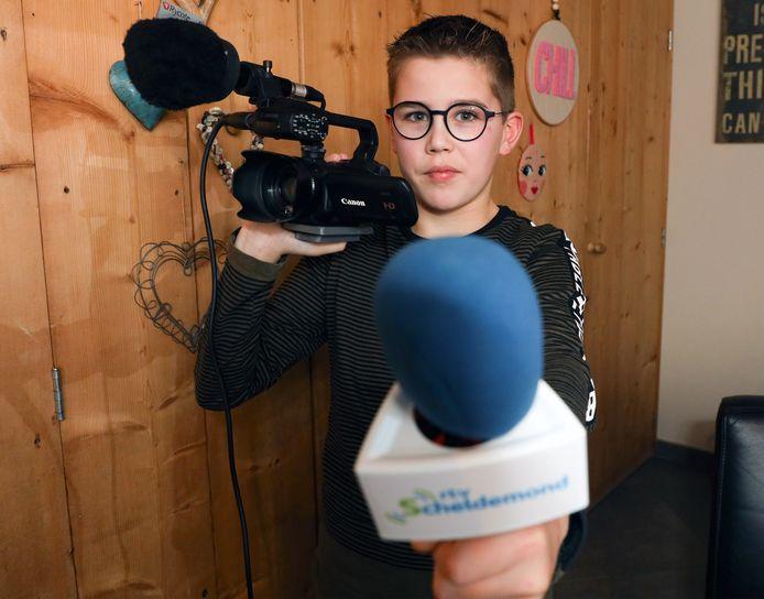 RTV Scheldemond-reporter Wim Kools