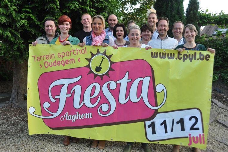 De organisatoren van Fiësta Aaghem zijn er helemaal klaar voor.