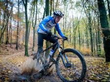 Zo ziet de nieuwe mountainbikeroute op Nationaal Park Veluwezoom eruit