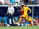 Arzani was onder Bert van Marwijk (op de achtergrond) actief op het WK.