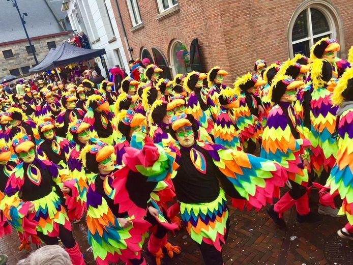 De Bosduvelkes uit De Lutte op carnaval oldenzaal