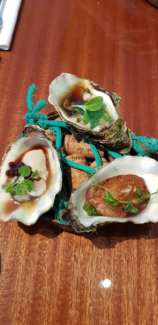 bewerkte oestervarianten
