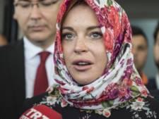 Lindsay Lohan reageert op hoofddoekjes-gate