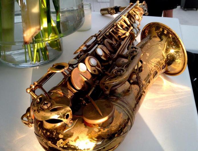 Het vermiste instrument van saxofonist Franklin Schieman.